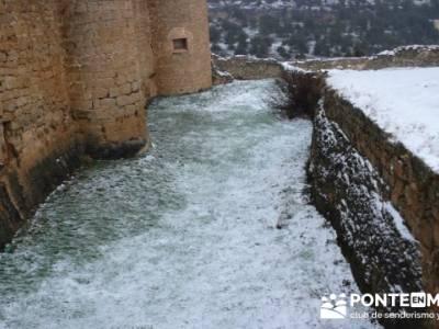 Villa de Pedraza y el Cañón del Río Cega; senderismo por españa